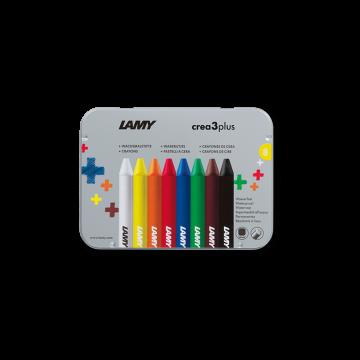 Lamy plus Wachsmalstifte 德国 凌美 3 plus 8色水溶性蜡笔