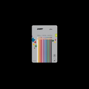 Lamy plus Farbstifte 德国 凌美 plus 彩色 铅笔 铁盒 系列 12色 24色 36色