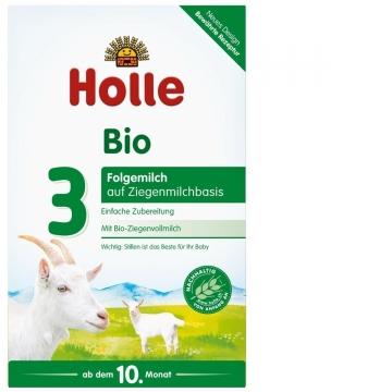 Holle Bio 泓乐 凯莉 有机系列 羊奶粉 3段 400g 新版