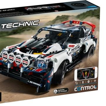 LEGO乐高42109 科技机械组遥控拉力赛车Top Gear男孩拼搭积木玩具