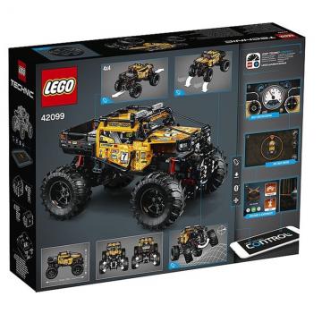 LEGO乐高42099机械组 RC X-treme遥控越野车拼搭益智积木儿童玩具
