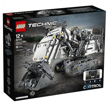 乐高 lego  42100挖掘机  积木男孩子玩具科技机械组