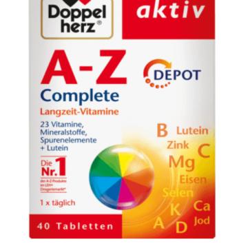德国正品双心综合维生素A-Z缓释片抗疲劳40粒