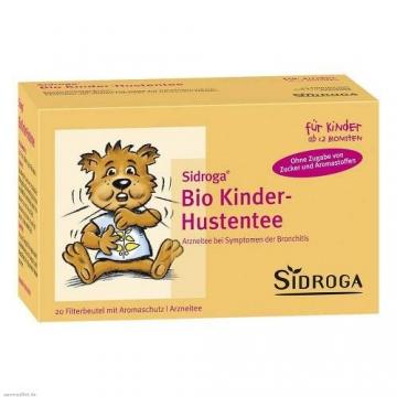 德国Sidroga有机儿童止咳茶保健茶20*1.5g
